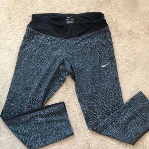 Nike running animal leopard cheetah print leggings
